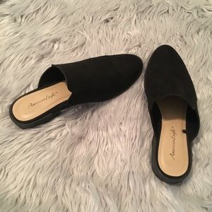 Black Mules/ Loafers/ Flats